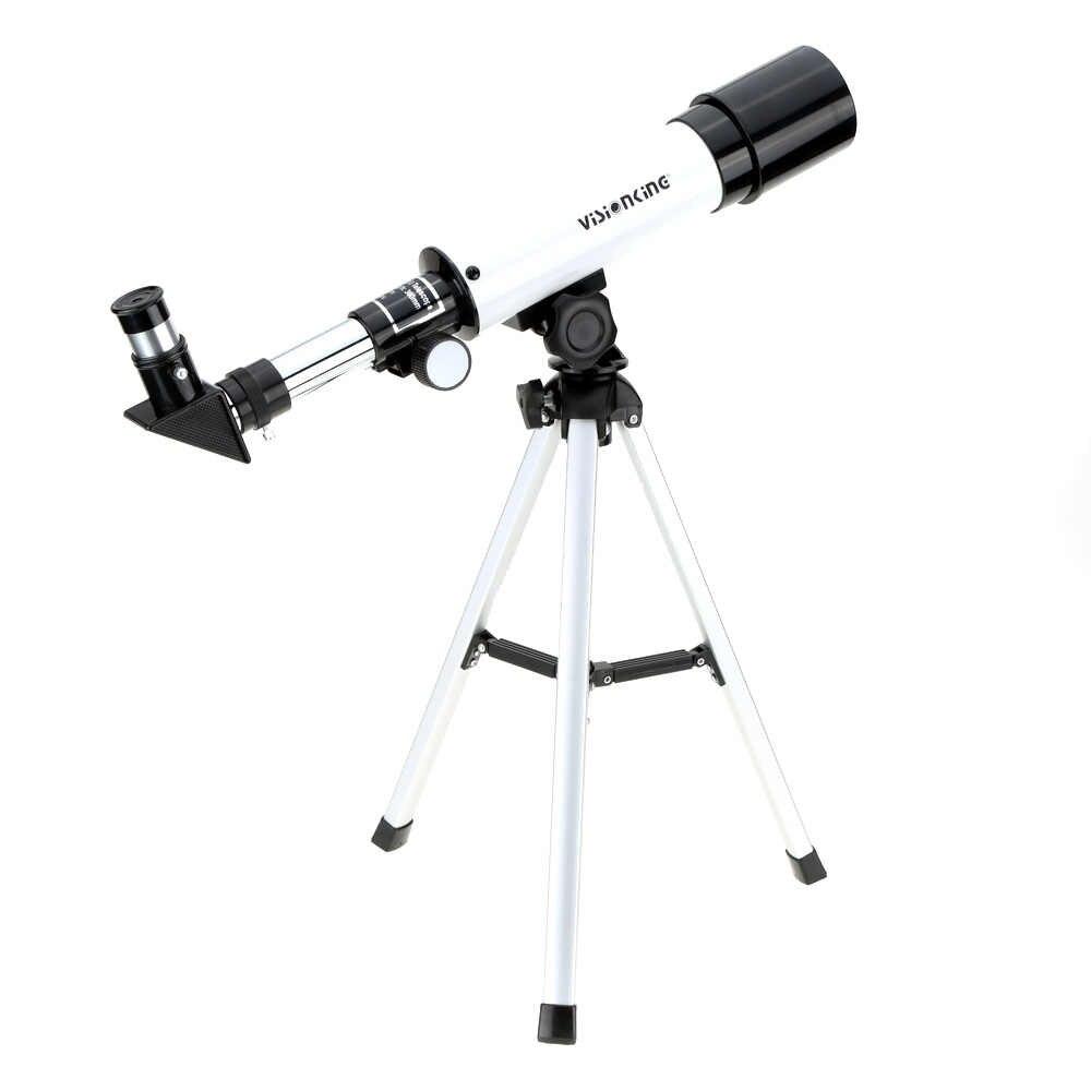 Visionking 360/50mm Escopo Refrator Telescópio Astronômico Espaço Monocular com Tripé Espaço Observação Escopo Melhor Presente