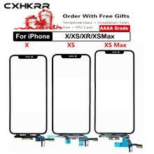 Оригинальный сенсорный экран дигитайзер для iphone x/xr/xs max