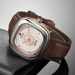 Image 2 - KADEMAN 新スクエア腕時計男性高級スポーツ腕時計 2019 星空デザインファッション腕時計 3TAM ビジネスカジュアルレロジオ Masculino