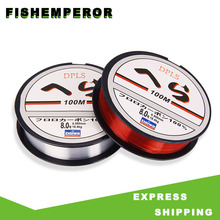 Fishing-Line Monofilament-Wear Pull-Japan Nylon Super-Strong Iimport-Material Resistant