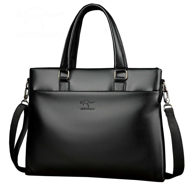 Casual Man Laptop-Bag Shoulder-Bags Business Briefcase-Bag Men Quality