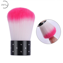 Nail Cleaning Brush Tools Remove Dust Powder File Art Care Manicure Pedicure Acrylic Clean for