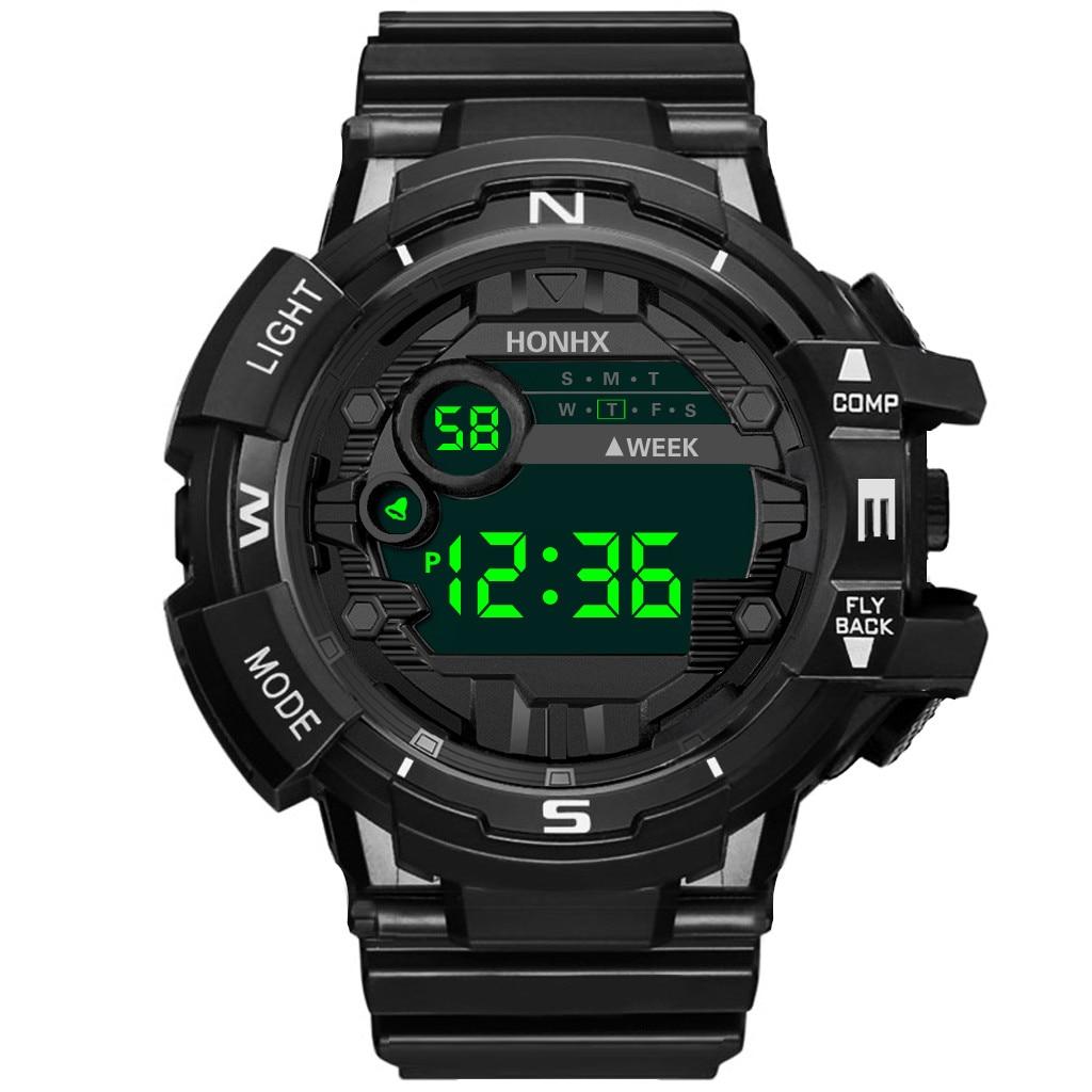 Sport Watch Digital Watch Men LED 50M Waterproof Diving Electronic Watch Military Watch Outdoor Sports Watch Relogio Masculino