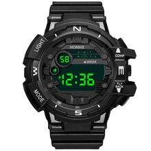 Sport Watch Digital Watch Men LED 50M Waterproof