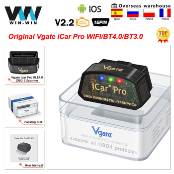 Vgate iCar Pro ELM327 OBD2 Scanner Auto Tools OBD 2 WIFI Bluetooth-Compatible 4.0 For IOS ODB2 Car Diagnostic PK ELM 327 V 1 5 1