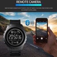 Skmei Orologio Intelligente per Ios Android di Sonno Monitor Chiamata Ricordare Smartwatch Lusso Calorie Sport Orologio da Polso Orologi da Uomo