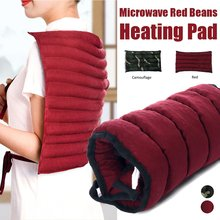 Physical Hot Therapy Belt Body Massage Bag Microwave Heating Red Beans Heating Pad Neck Shoulder Leg