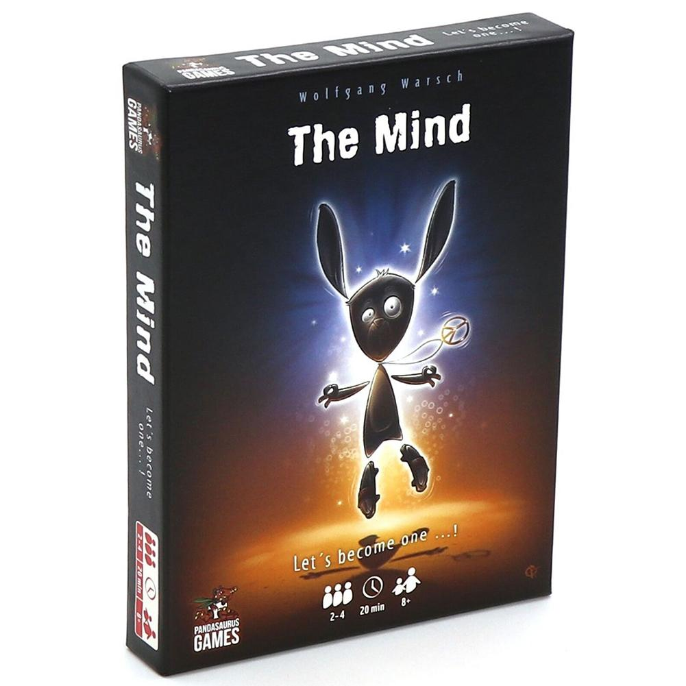 The Mind Card Game Puzzle Card Game Board Family Team Entertainment Board Games Fun Poker Playing Cards Gift Box Topsale
