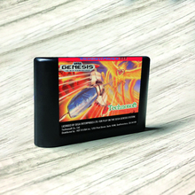 Thunder Force III   USA Label Flashkit MD Electroless Gold PCB Card for Sega Genesis Megadrive Video Game Console
