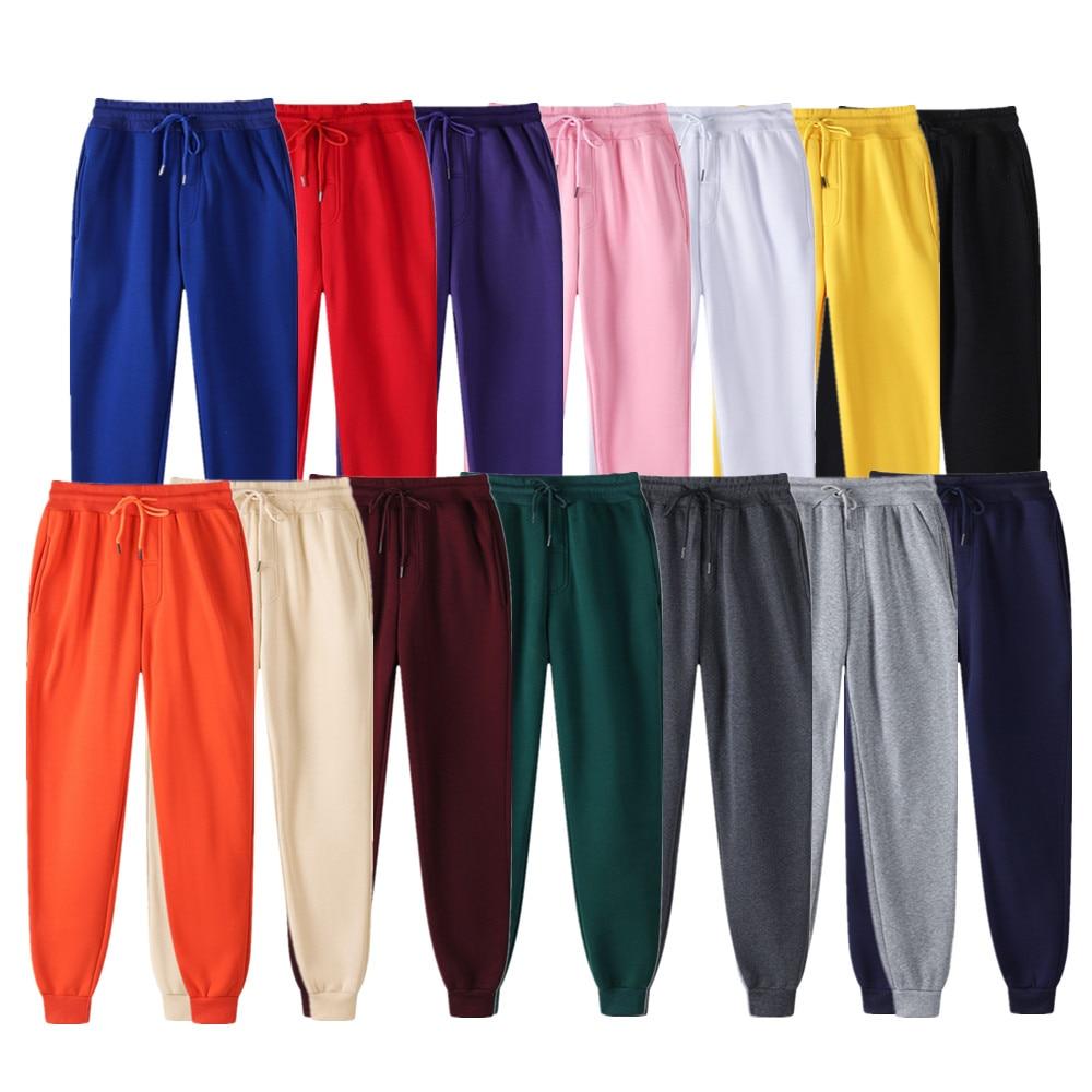 New Ms Joggers marca donna pantaloni pantaloni Casual pantaloni sportivi Jogger 14 colori allenamento Fitness Casual esecuzione abbigliamento sportivo 1