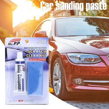 1PCS Cars Polishing Body Compound Wax Paint Scratching Repair Kit Slop Wax marking abrasive Automotive paint removal 2021 image
