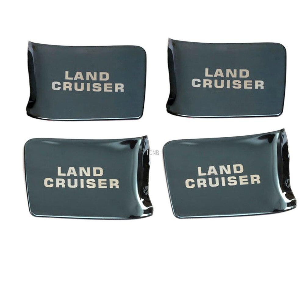 Stainless Steel Inner Door Bowl For Toyota Land Cruiser 200 LC200 2008 2009 2010 2011 2012 2013 2014 2015 2016 2017 2018 2019