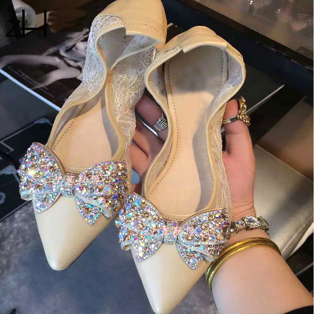 Crystal Rhinestone Shoe Charms Buckle Bow Bridal Detachable Shoe Clip Decor Super Shiny Crystal Rhinestone Shoe Charms Bowknot