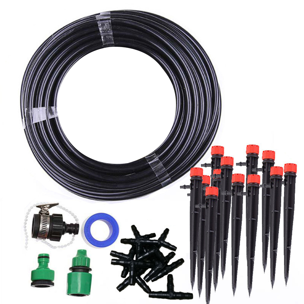 DIY Drip Irrigation System Garden Micro Drip Automatic Watering Kit Drip irrigation and irrigation set Planter tools