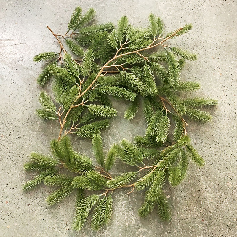 180 Cm Artificial Plants Plastic Vine Christmas Wreath Home Decor Wedding Scrapbooking Flowers Floristics Household Products