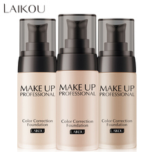 2020 New Women Pro 3 Colors Nude Makeup Face Foundation Liquid Cover Concealer Long Lasting Moisturizing