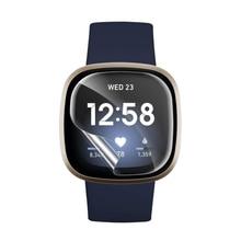 1шт полный покрытие экран протектор для Fitbit Versa 1 2 3 мягкий гидрогель защитный пленка для Fitbit часы аксессуары% 28Не стекло% 29