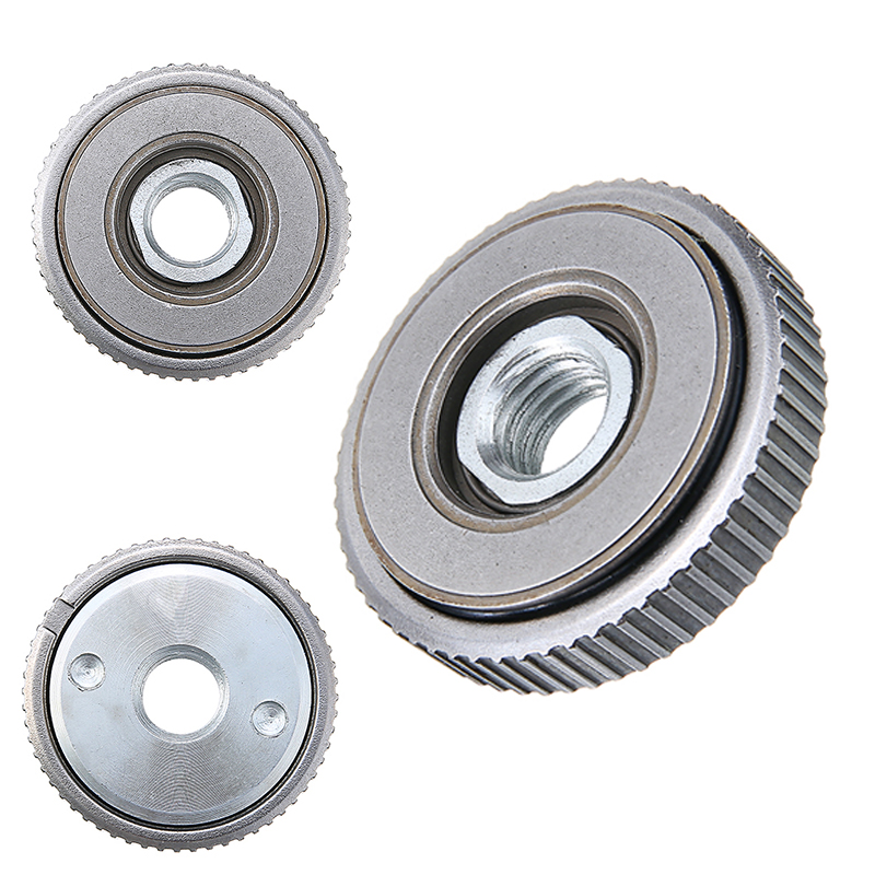 M14 For Cups Wheel Disc Fixing Accessories Angle Grinder Quick Release Nut Steel