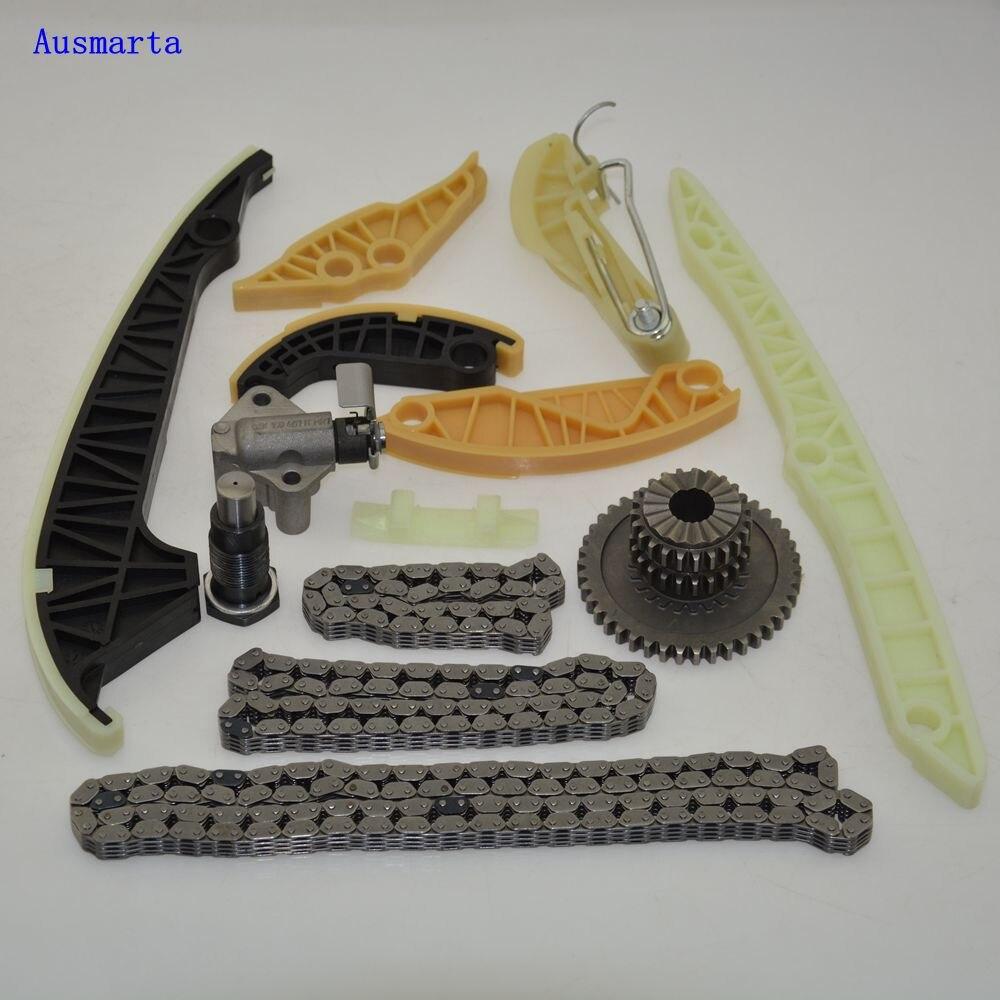 13 шт. комплект зубчатой цепи двигателя для Passat CC Golf A4 TT EA888 1,8 T 2,0 T 06 H 109 158 N 06 H 109 09 P 06 H 109 469 AD