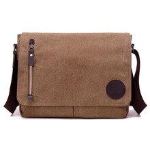 Canvas Casual&Business Men's Messenger Bag CrossBody Shoulde