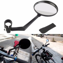 Universal Bicycle Mirror Adjustable Mountain Bike Handlebar Rearview Mirrors Cycling Rear View Convex Accessories