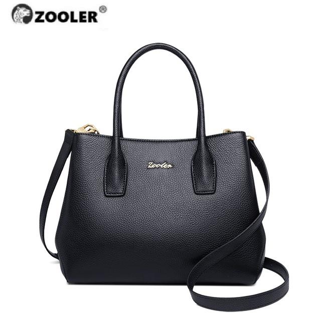 ZOOLER Luxury Brand Designer Woman Genuine Leather Bags Handbags Rice handbags for women 2020 Shoulder Bags Tote bolsas feminina