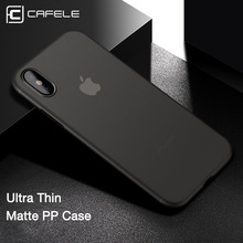 CAFELE Original NEW case for iphone 7 cases Ultra Thin 5 colors PP cover Apple plus Fashion Transparent back shell