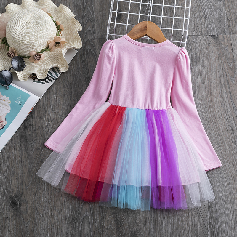 H485d62fcff284b3bb42199820f8c3a9ea Children Formal Clothes Kids Fluffy Cake Smash Dress Girls Clothes For Christmas Halloween Birthday Costume Tutu Lace Outfits 8T