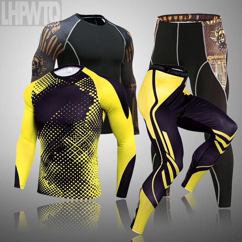 Мужской брендовый комплект нижнего белья с объемным черепом, термобелье, компрессионное Мужское нижнее белье, полный костюм, спортивный костюм, теплый базовый слой 4xl|Кальсоны|   | АлиЭкспресс
