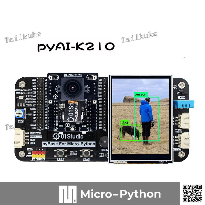 PyAI- K210 Development Board Python AI Artificial Intelligence Machine Vision Deep Learning