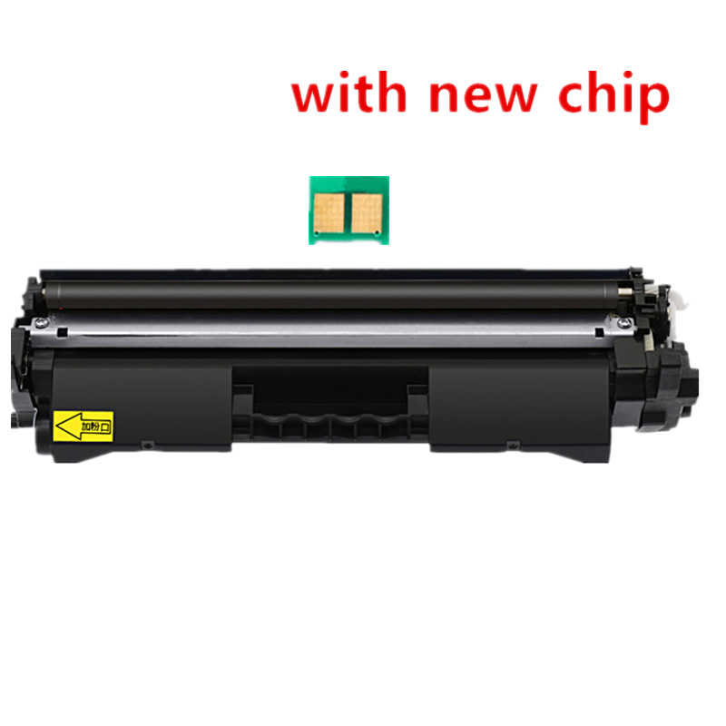 BLOOM Replaceme CF217A <font><b>17a</b></font> 217a toner cartridge with <font><b>chip</b></font> for <font><b>HP</b></font> LaserJet Pro M102a M102w MFP M130A M130fn M130fw M103nw printer image