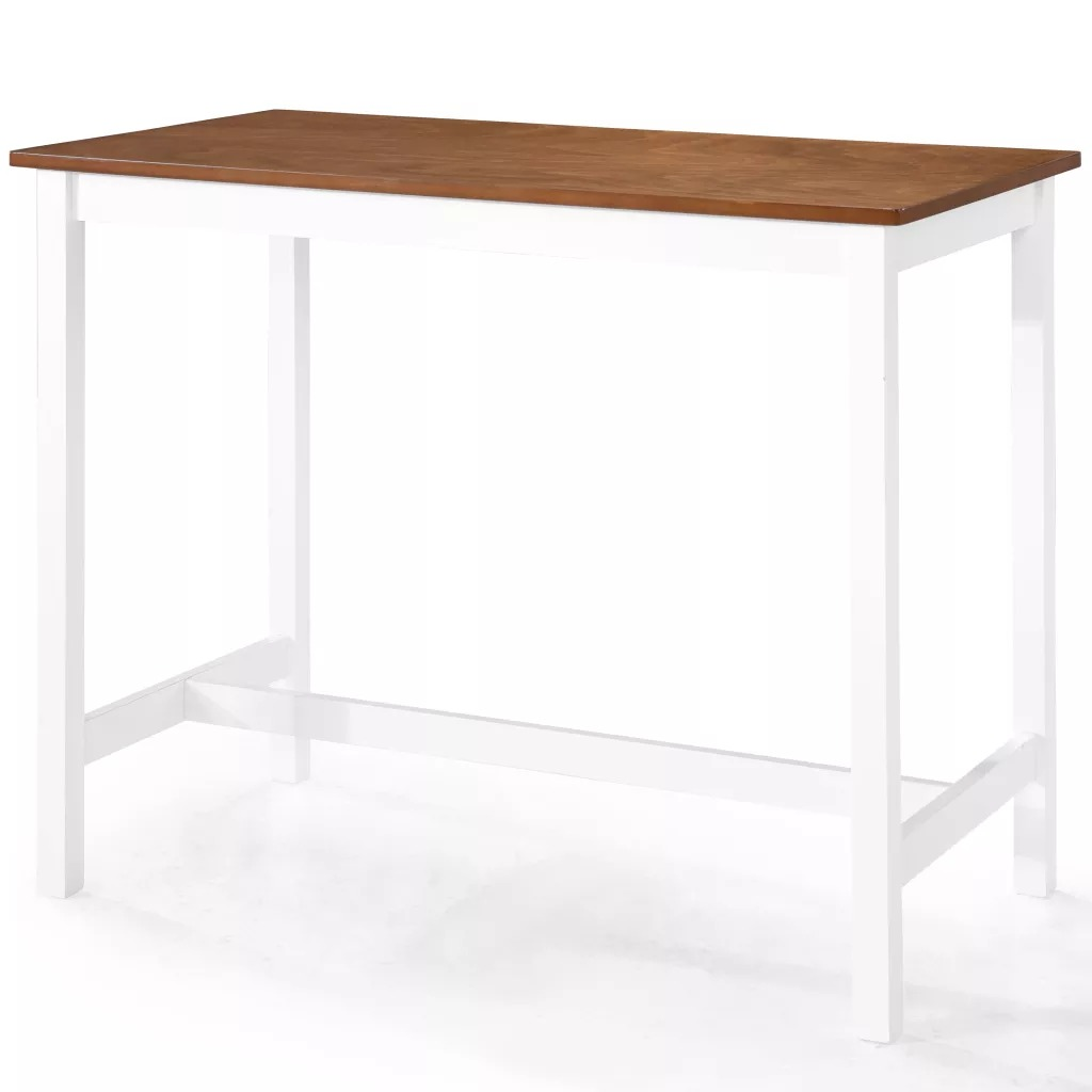 VidaXL Bar Table Solid Wood 108 X 60 X 91cm 245548