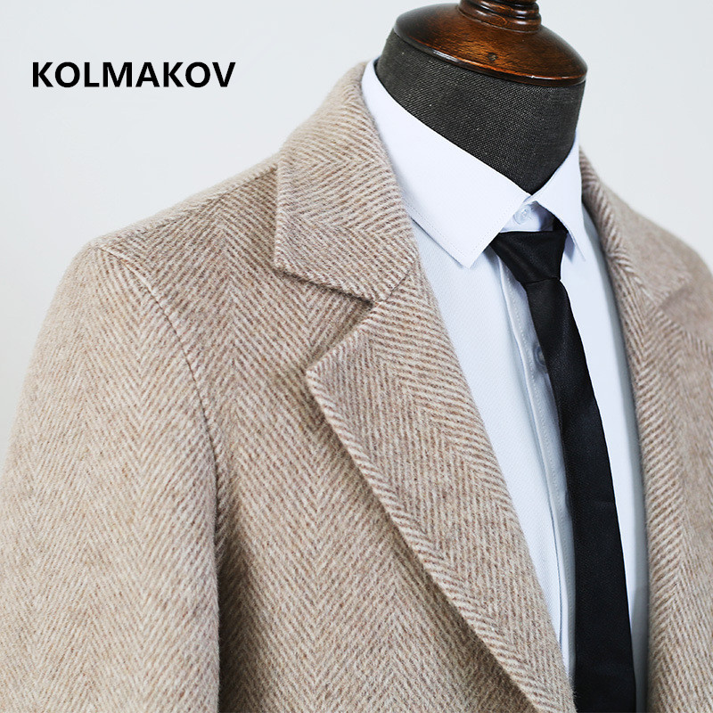 2020 new arrival 80% wool trench coat men,men's high quality wool jackets ,Classic wool coat men,plus-size S-XXXL