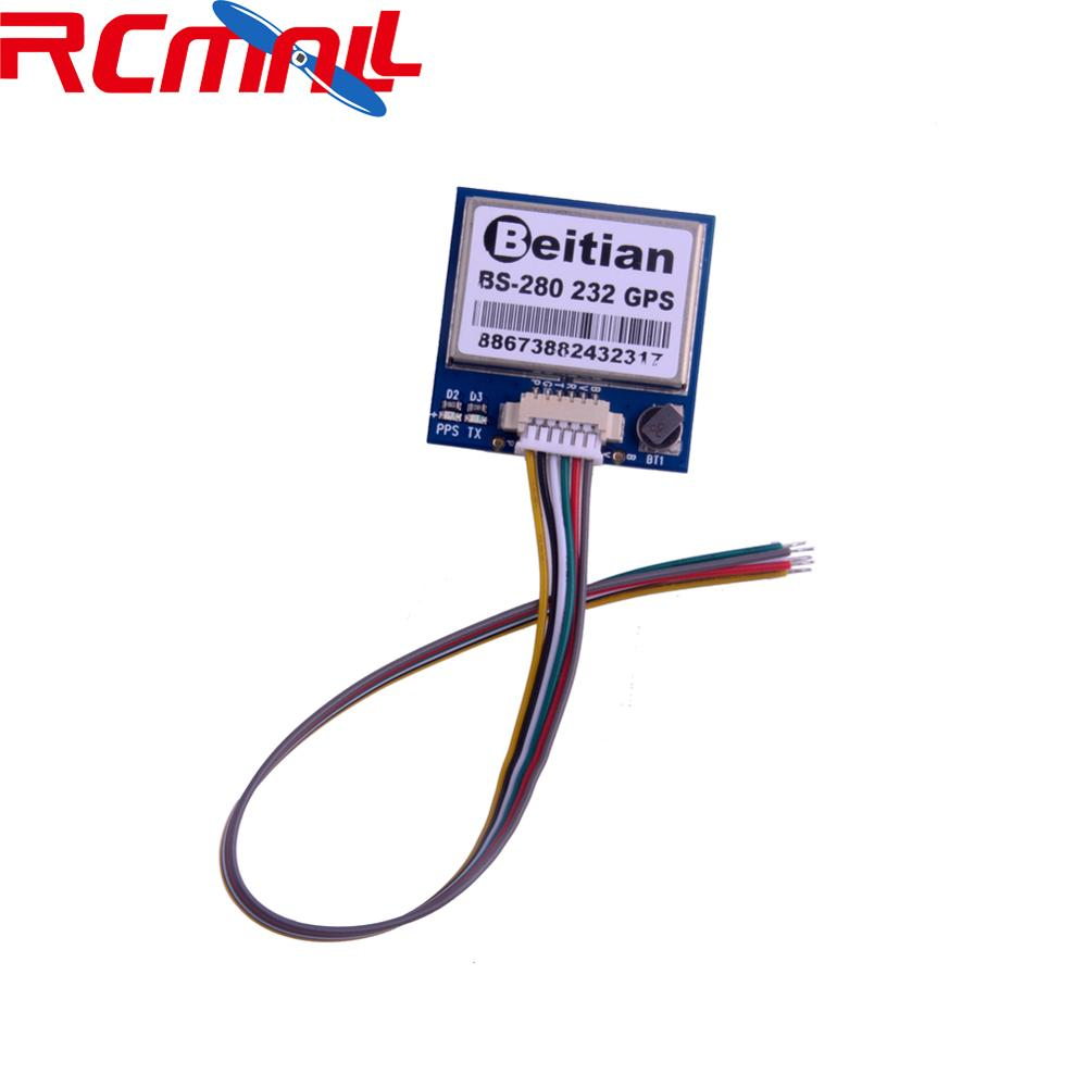 Beitian BS-280 GPS Module 7th Generation BS280 With Antenna RS232, Default 9600bps, For Positioning Tracking  RCmall FZ3185