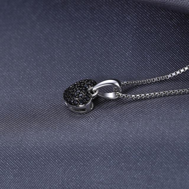 Black Heart Spinel Pendant