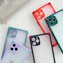Square Plain Phone case For iPhone 11 Pr