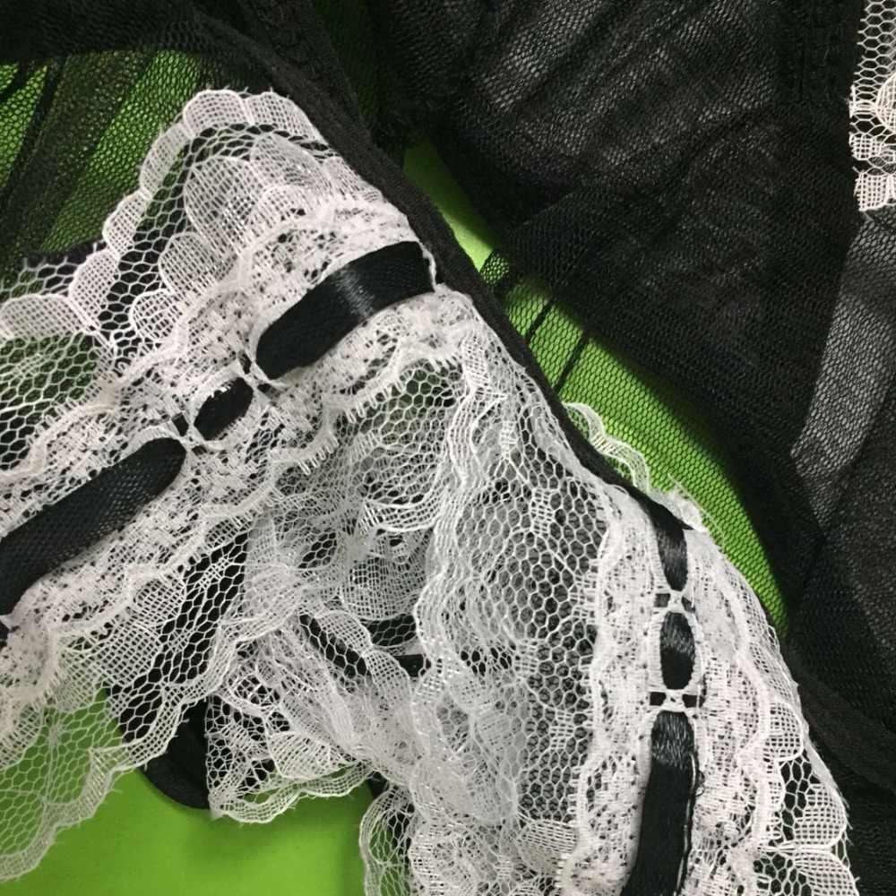 Sıcak Cosplay hizmetçi üniforma giyim seksi iç çamaşırı kadın kostüm büyüleyici seks ürünleri oyuncak Muply seksi iç çamaşırı rol oynamak kostümleri
