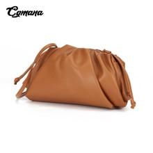 Genuine Leather Envelope Bags 2019 Brand Luxury Handbags Women Bags Designer Leather Purses crossbody bags For Women Clutches цена в Москве и Питере