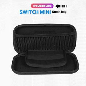 Image 4 - แบบพกพาNSอุปกรณ์เก็บกระเป๋าEVA Hard Shellซิปกรณีกระเป๋าเดินทางHandle Carry CaseสำหรับNintendo Switch
