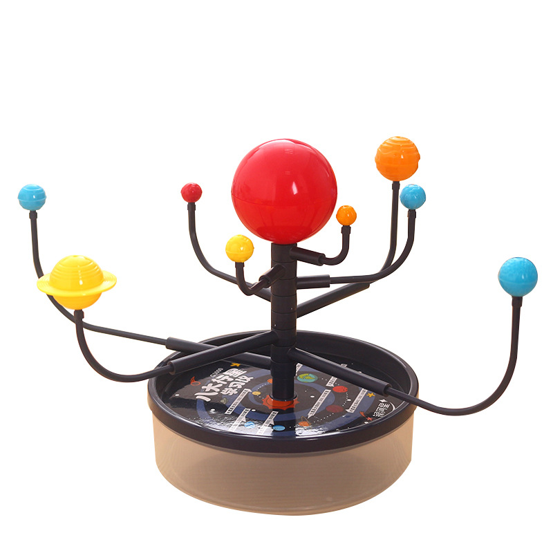 Montessori Educational Toys For Children Early Learning Materials Baby Intelligence Planets Science Solar System Teaching Model