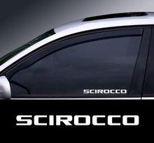 2 pçs scirocco fenster grafik adesivo * farben auswahl * corpo do carro janela decalque adesivo