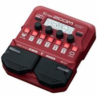 Zoom B1 four bass guitar multi effect processors, guitar single effect device, preamplifier, Guitar Effect Pedal