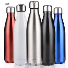 350 500 750 1000ml dwuścienny termos izolacyjny butelka wody ze stali nierdzewnej BPA Free Thermos do butelki na wodę sportową tanie tanio CN (pochodzenie) STAINLESS STEEL Ekologiczne vacuum Brzuch puchar Ce ue Termosy 12-24 godzin Cola Bottles Double-wall Portable