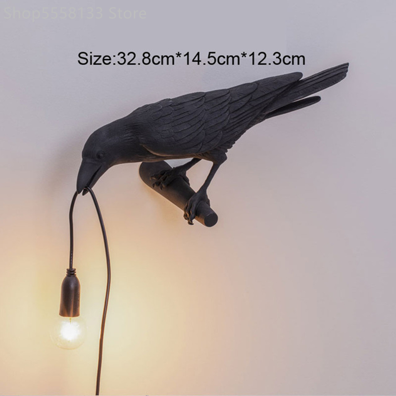 Bird Lamp LED Nordic Wall Lamps Italian Seletti Bird Wall Lights For Home Living Room Bedroom Home Bird Light Wall Light Fixture