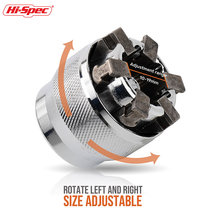Hi spec 3/8 10 19 мм Регулируемая розетка универсальный привод