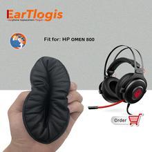 EarTlogis החלפת אוזן רפידות סימן 800 על ידי HP אוזניות חלקי Earmuff כיסוי כרית כוסות כרית