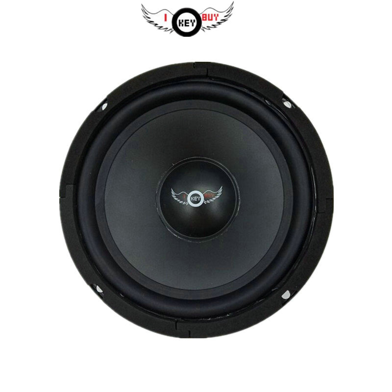 I Key Buy 6.5 inch 4Ohm <font><b>300W</b></font> Auto Loudspeakers Multimedia <font><b>Subwoofer</b></font> Rubber Edge Speakers Upgrade DIY Home 1Piece image