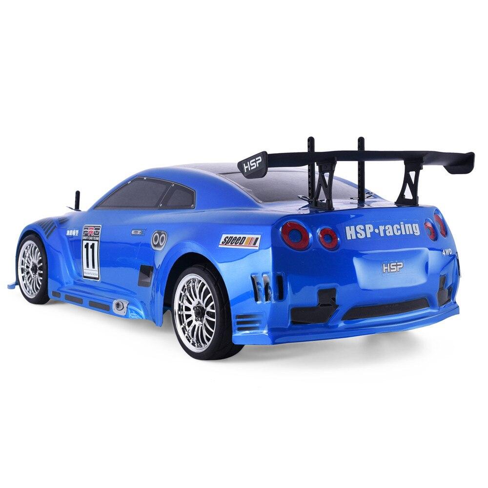 HSP Rc Auto 1:10 4wd Op Road Racing Drift Afstandsbediening Auto 94123PRO Elektrische Power Borstelloze Lipo Hoge Snelheid Hobby voertuig Speelgoed-in RC Auto´s van Speelgoed & Hobbies op  Groep 3