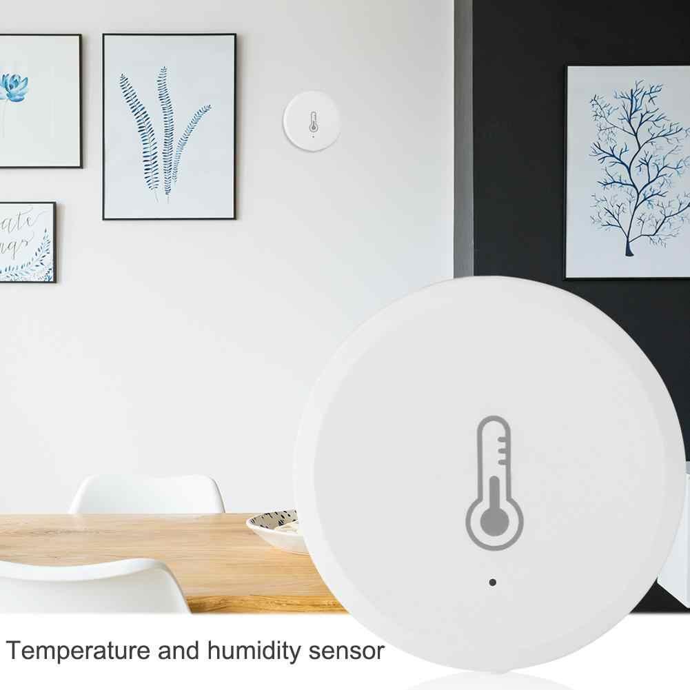 Tuya טמפרטורת לחות חיישן אזעקה מערכת מכשיר אינטליגנטי בית עבור אמזון Alexa Google טמפרטורת גלאי אבטחה אבזר