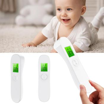Household Thermometers Non Contact LCD Digital Thermometers Infrared Forehead Thermometer Temperature Measuring Thermometers